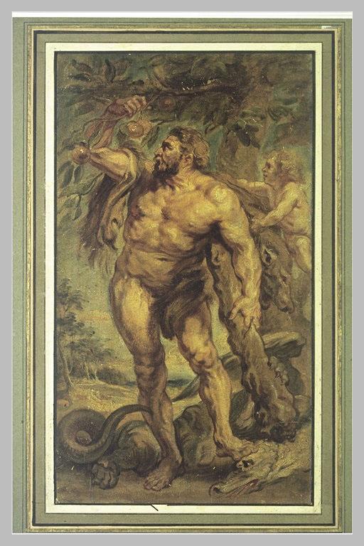 Hercule dans le jardin des Hespérides